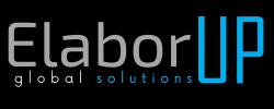 Logo Elaborup grigio-nero